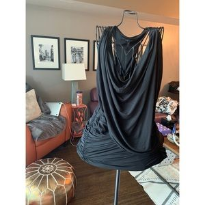 Flowy Black BCBG Dress